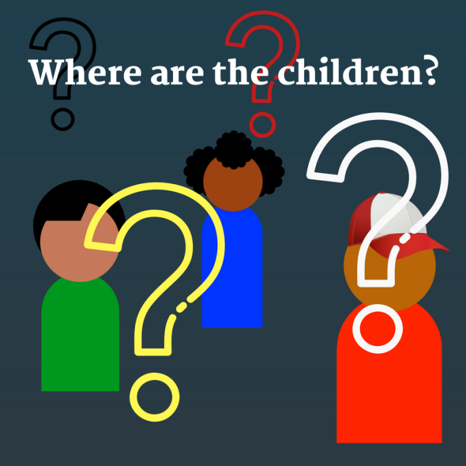 Where are the children_